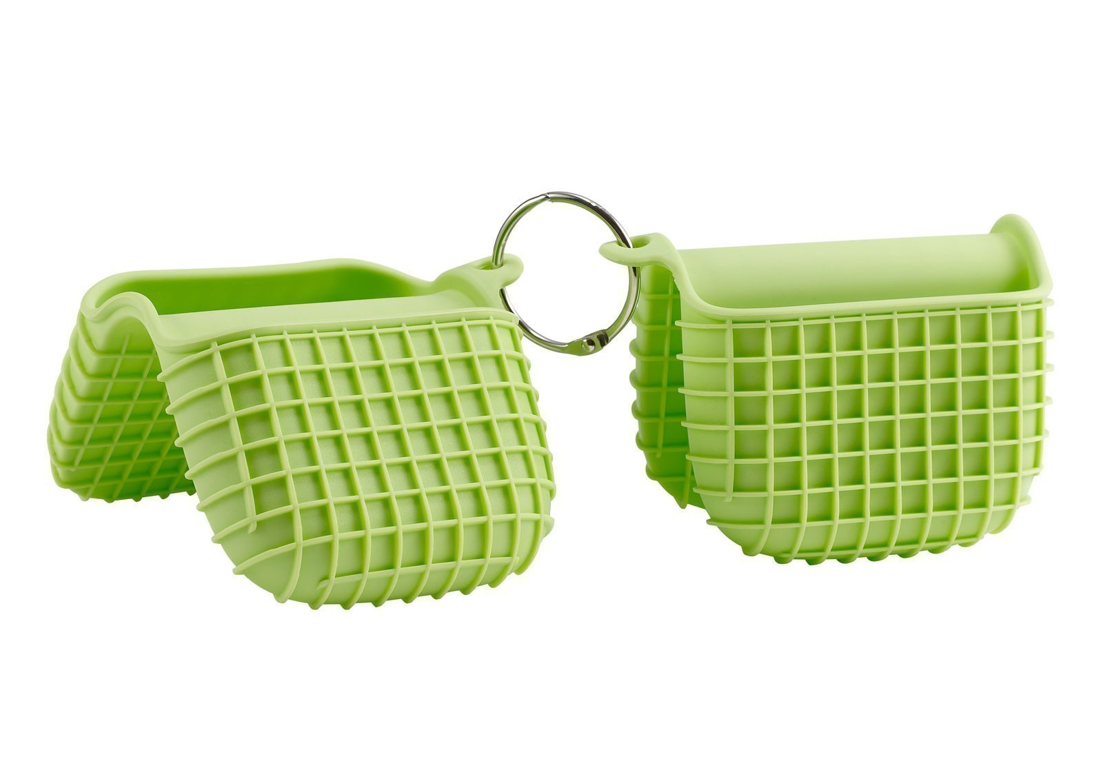 Grillhandschuhe Tepro 2er-Set Silikon grün Bild 1