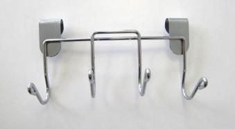 Grillzubehör Halter mit 4 Haken B 17 cm Bild 1
