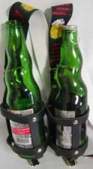 Originelle Fun Party Hosenträger mit Flaschenhalter Schneider Grill Bild 2