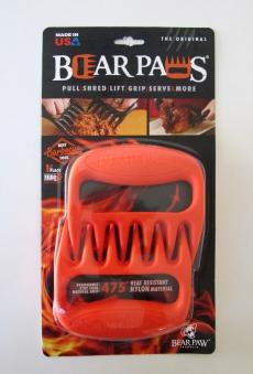 Pulled Pork Krallen Bear Paws Grizzly Edition orange Bild 1