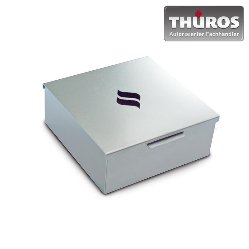 THÜROS Räucherbox / Smoking Mini Box 15x15cm Edelstahl Bild 1