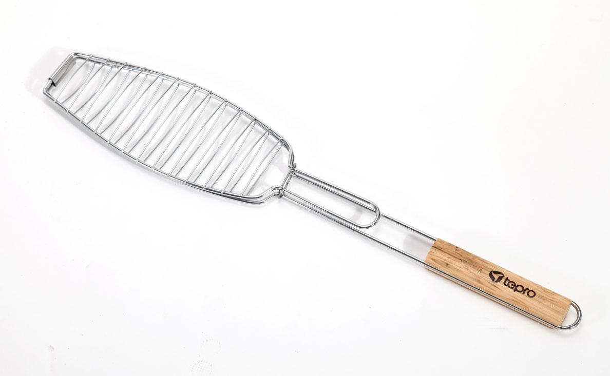 Tepro Fischbräter / Wendebräter mit Holzgriff 65cm Bild 1