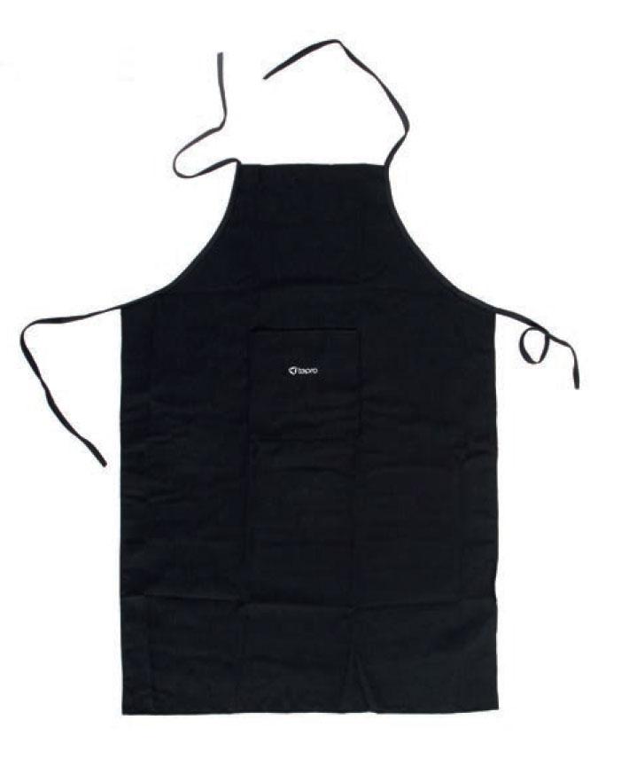 Tepro Grillschürze mit Logo schwarz Bild 1