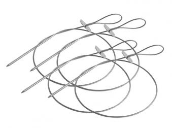 Tepro Grillspieß flexibel Edelstahl Länge 58 cm 4 Stück Bild 1
