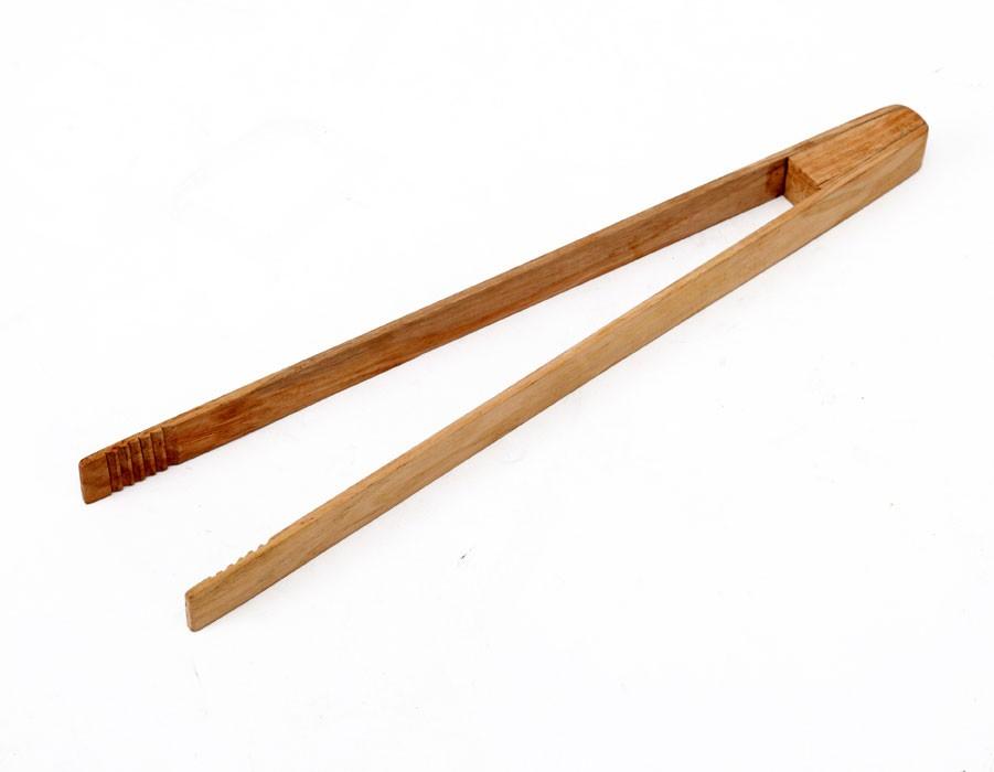 Tepro Grillzange aus Holz Länge 42 cm Bild 1