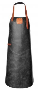 Witloft Grillschürze / Lederschürze Black/Cognac Größe L Bild 1