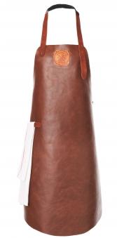 Witloft Grillschürze / Lederschürze Cognac/Cognac Größe L Bild 1