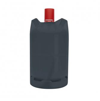 Abdeckhaube / Schutzhülle Tepro Gasflasche 11kg 25x45cm schwarz Bild 1