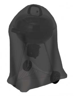 Abdeckhaube / Schutzhülle Tepro Kugelgrill groß schwarz Bild 1
