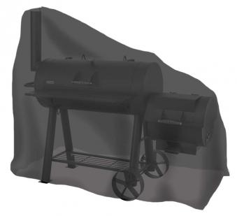 Abdeckhaube / Schutzhülle Tepro Smoker groß schwarz Bild 1