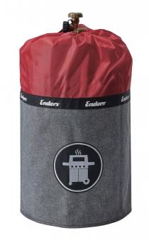 Enders Gasflaschenhülle Style für Gasflasche 11kg red Bild 1