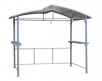 Leco Pavillon / Profi-Grillpavillon XXL anthrazit/grau 275x165cm Bild 1