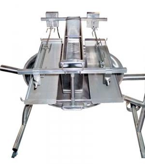 Vertikalaufsatz 50 cm für Schneider Vertikalgrill 2 fach Bild 1