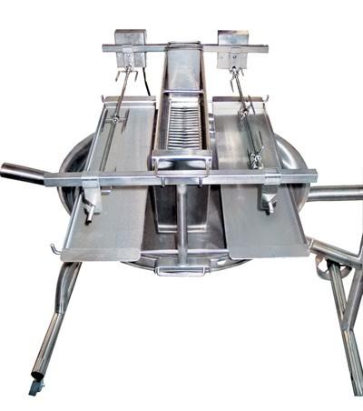 Vertikalaufsatz 60 cm für Schneider Vertikalgrill 2 fach Bild 1