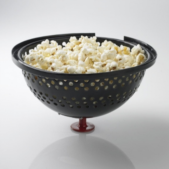 Bon-fire Popcorn Deckel / Poptop schwarz rot Ø 28 cm Bild 2