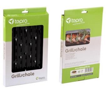 Grillschale / Grillpfanne emailliert Tepro 34,5x22,5cm Bild 2