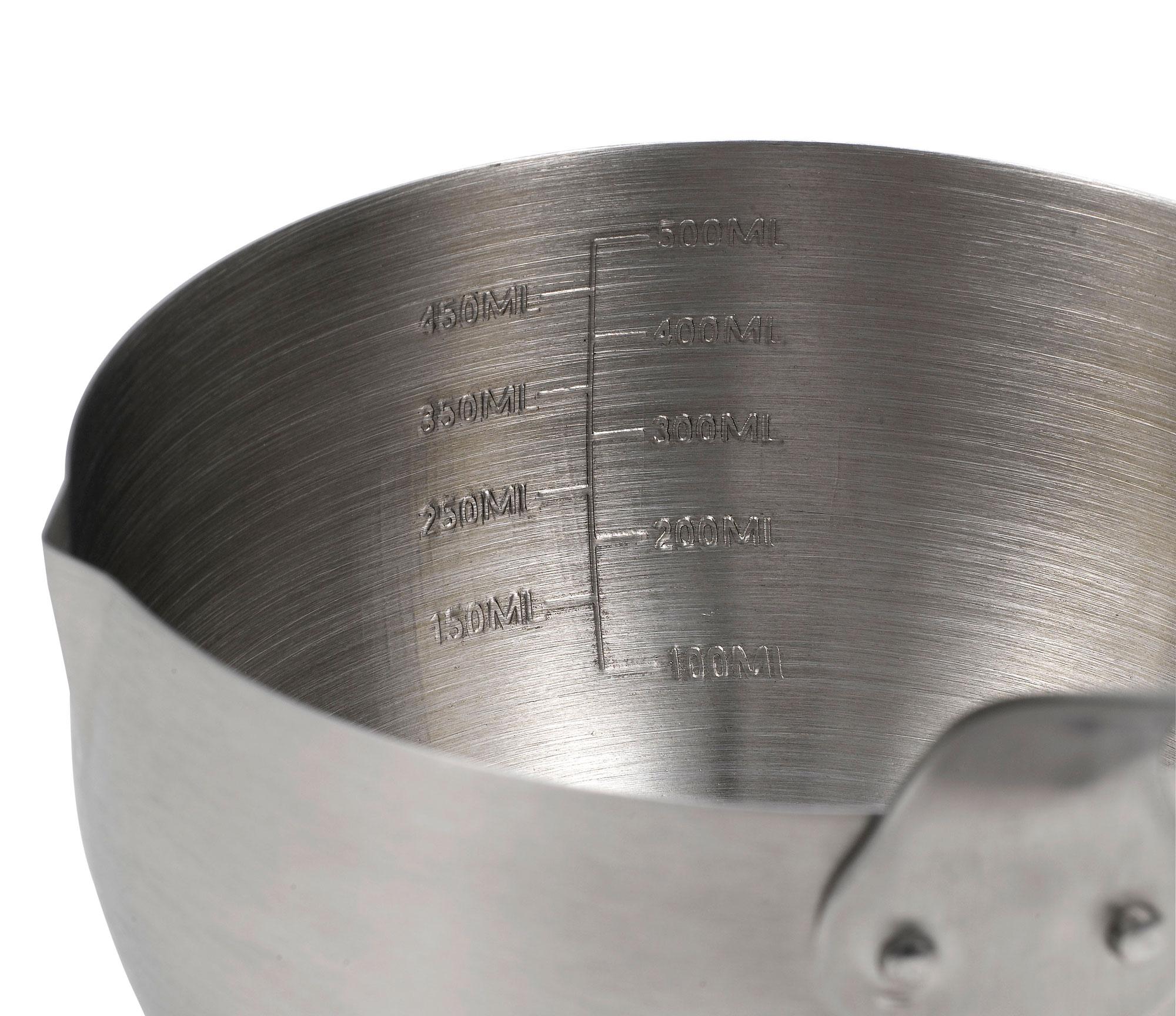 Saucentopf Tepro Edelstahl mit langem Griff 0,5 Liter Bild 2