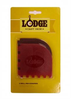 Lodge Grill Pfannen Schaber 2 Stück Bild 1