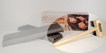 Reinigungsbürste mit Stahlborsten ManGrate Bild 1