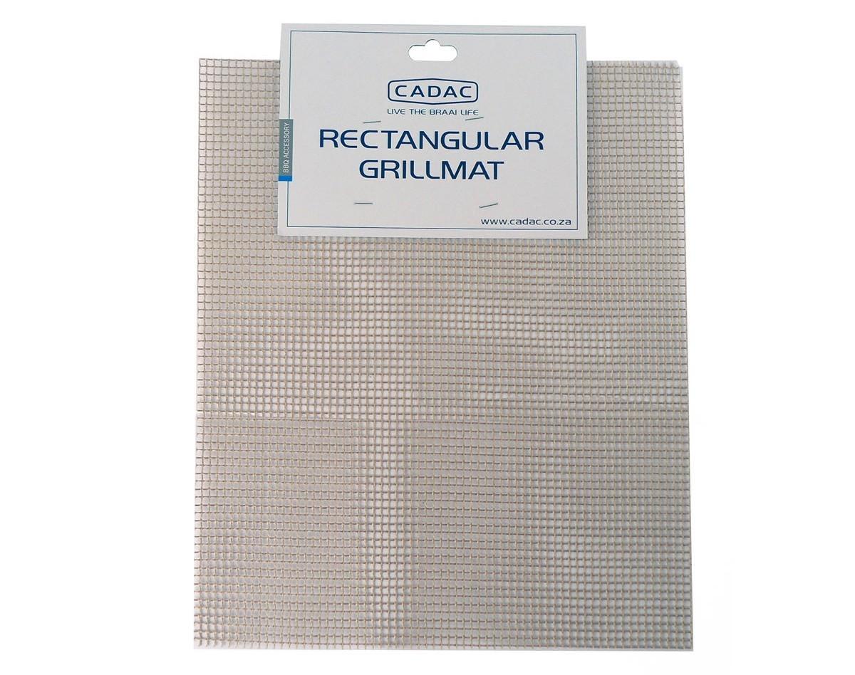 CADAC Grillmatte / Grillfolie Glasfaser eckig 33x40cm Bild 1
