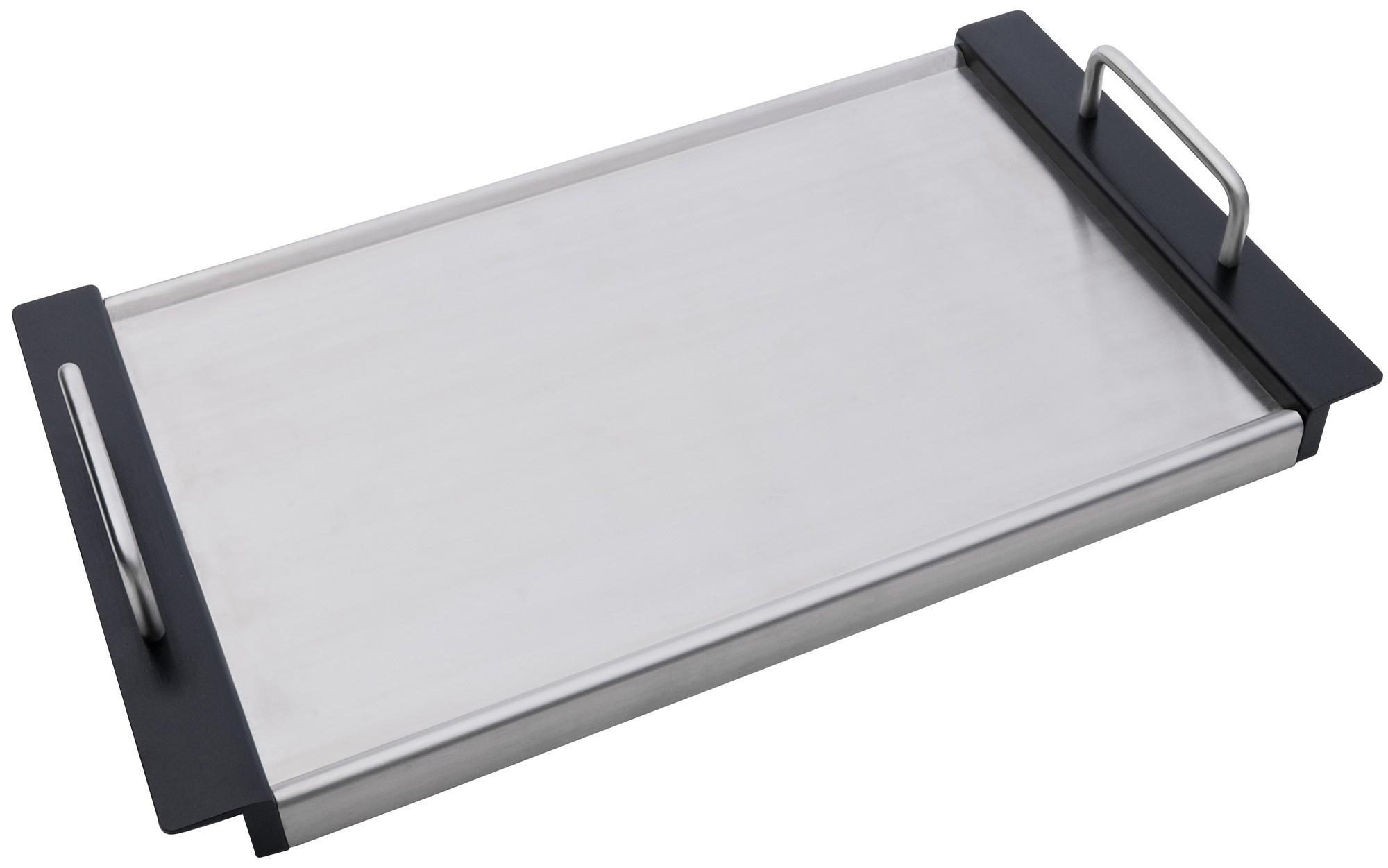 CADAC Teppanyaki Platte 26,5 x 46,4cm Edelstahl Bild 1