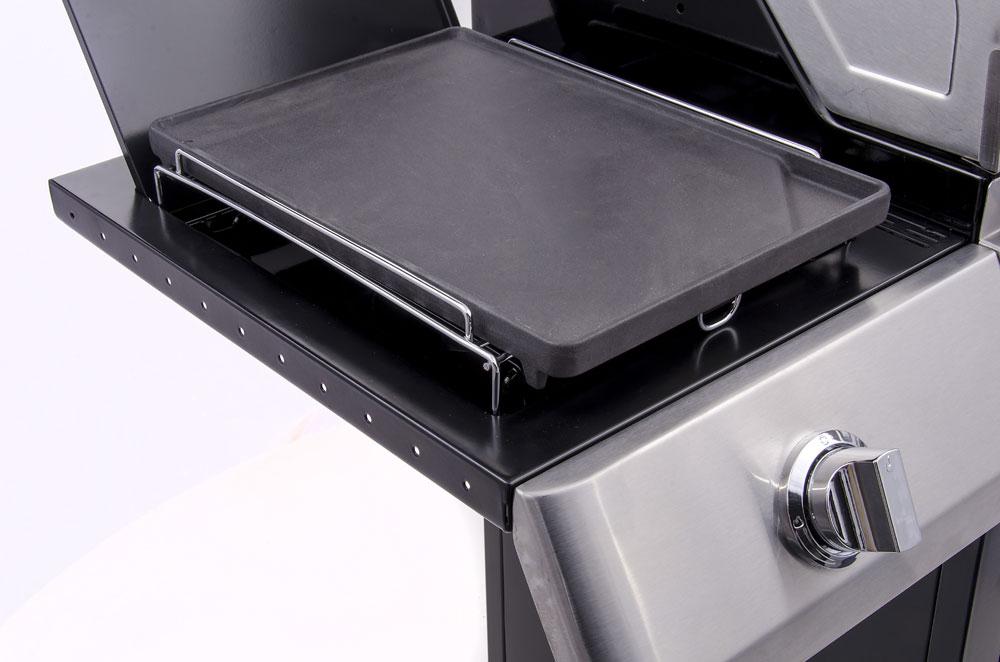 Char-Broil Grillplattenaufsatz Guss für Seitenbrenner Bild 1