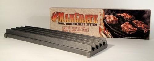 Gusseisen Grillrost ManGrate 38,1x10,8x3,5cm Bild 1