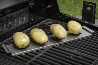 Kartoffelhalter barbecook Edelstahl für Grill Bild 2