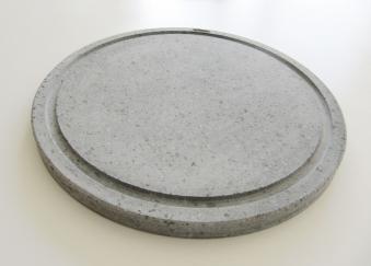 Pizzastein / Deflektorstein  Lavastein  Ø30x2cm Bild 1
