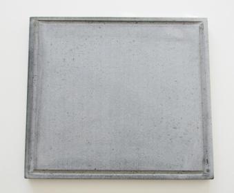 Pizzastein / Lavastein Freiluftküche 36x38x2cm Bild 1