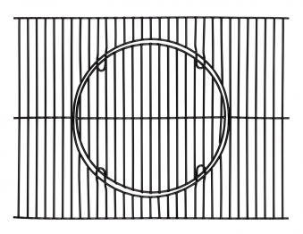 Tepro Universal Rost in Rost Grillrost Set emailliert 41,5x55cm Bild 1