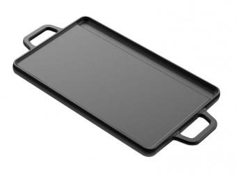 Tepro Wendeplatte Universal Gusseisen Gr. M Grillfläche 20x30cm Bild 1