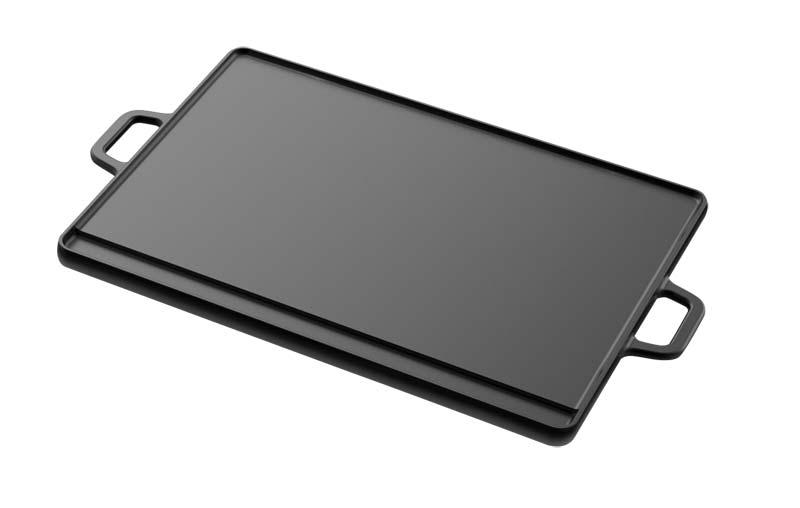 Tepro Wendeplatte Universal Gusseisen Gr. XL Grillfläche 40x30cm Bild 1