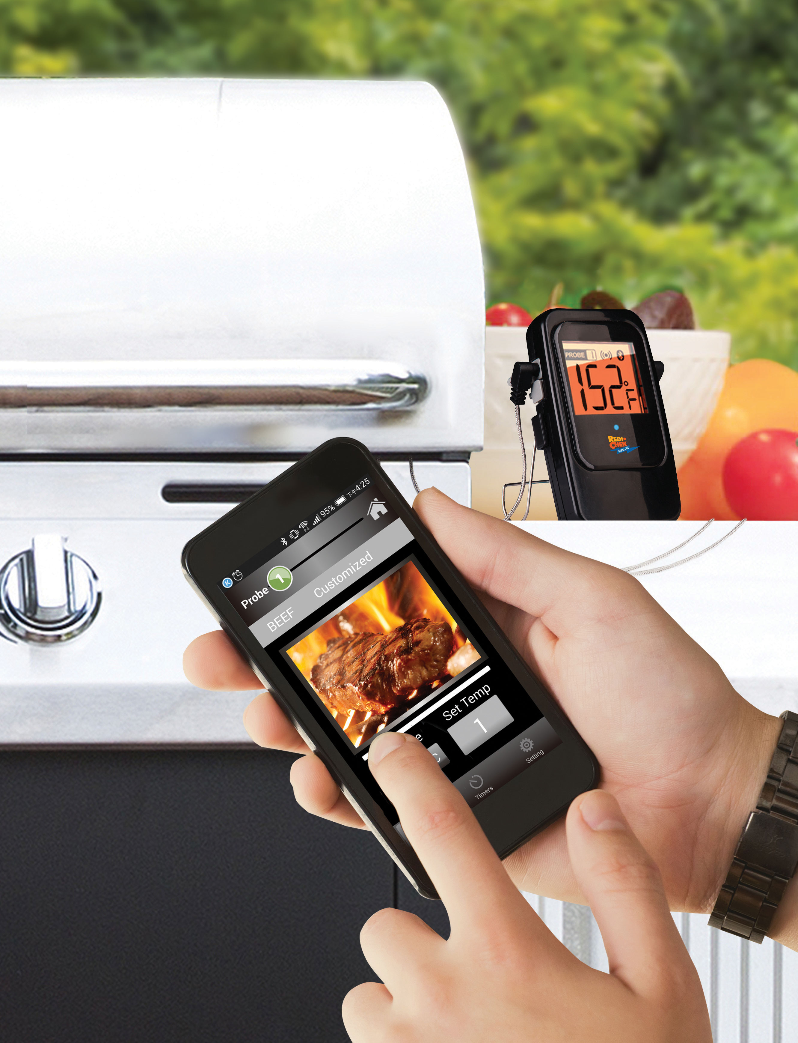 Maverick ET-735 Bluetooth Barbecue Thermometer Bild 2