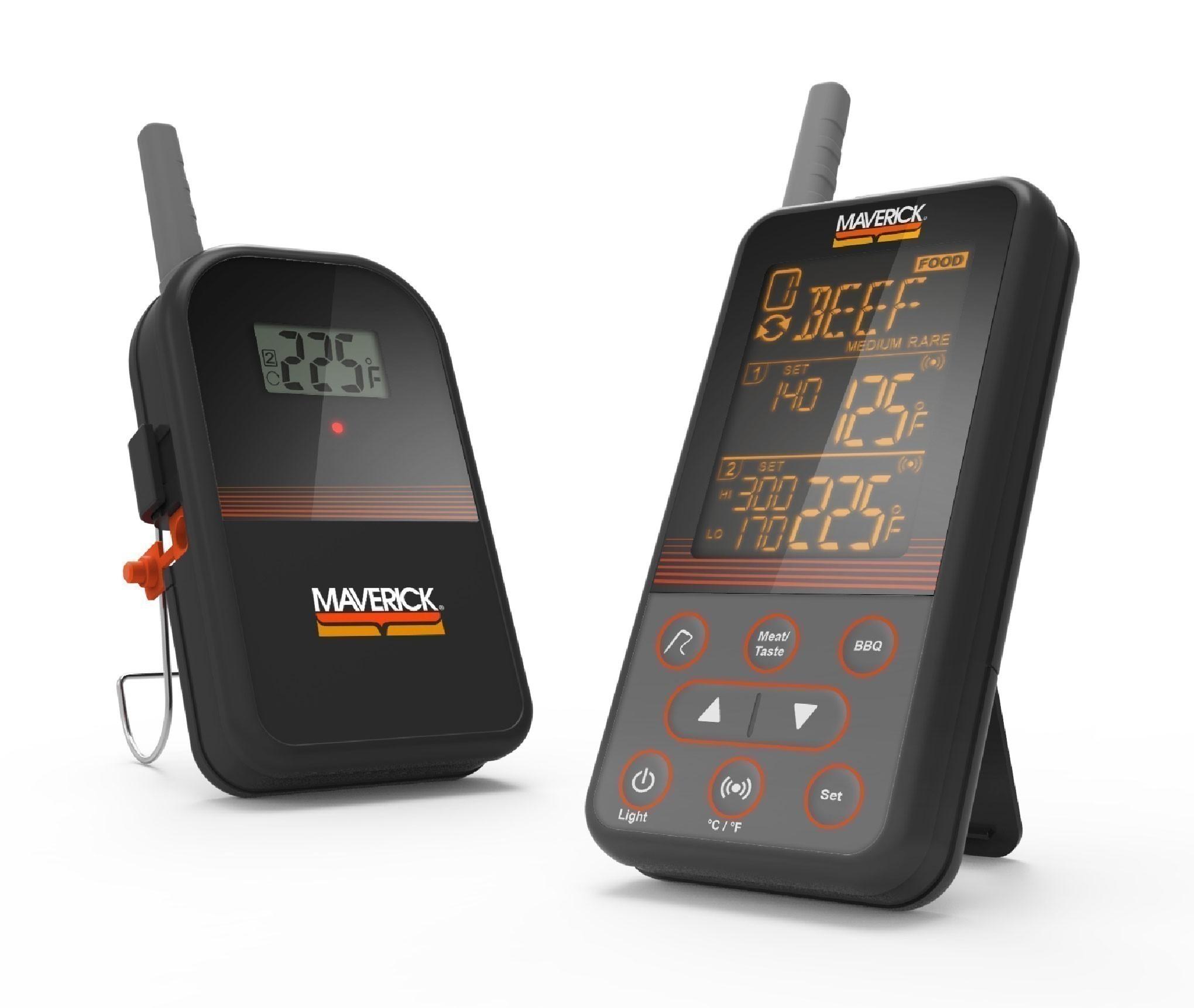 Maverick XR-40 Funkthermometer Extended Range Wireless BBQ & Meat Bild 1