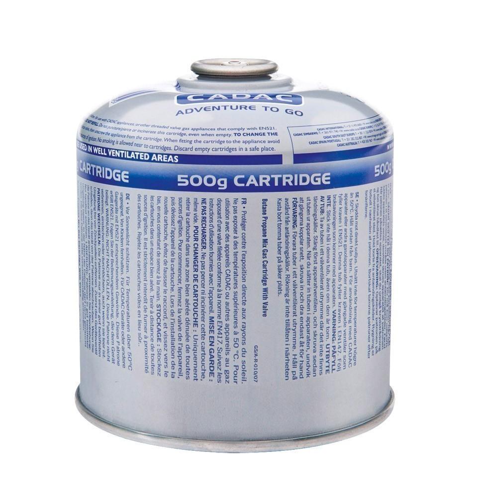 CADAC Universal Gas Schraubkartusche / Gewindekartusche 500g Bild 1
