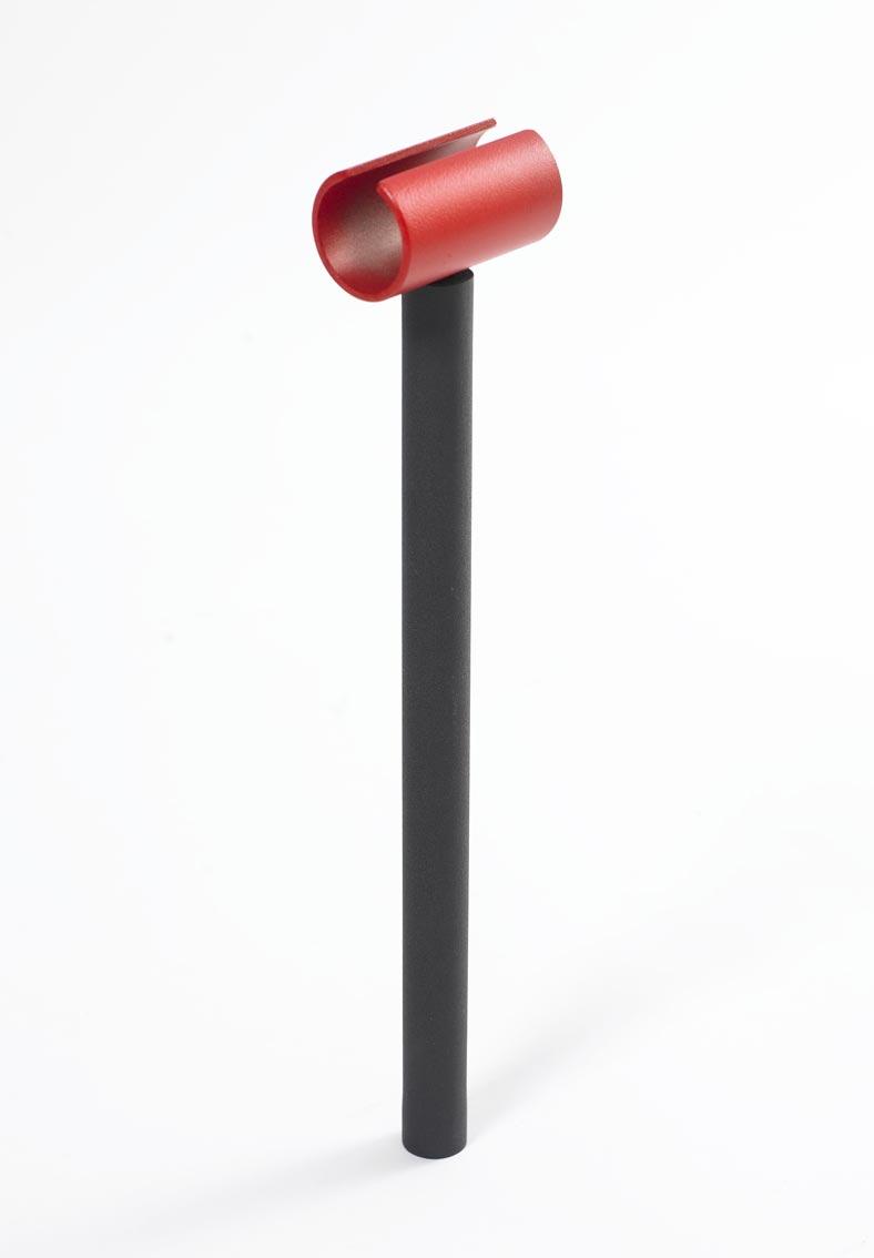 Bon-fire Halter für Stockbrot Stab / Grillspieß schwarz rot Bild 1