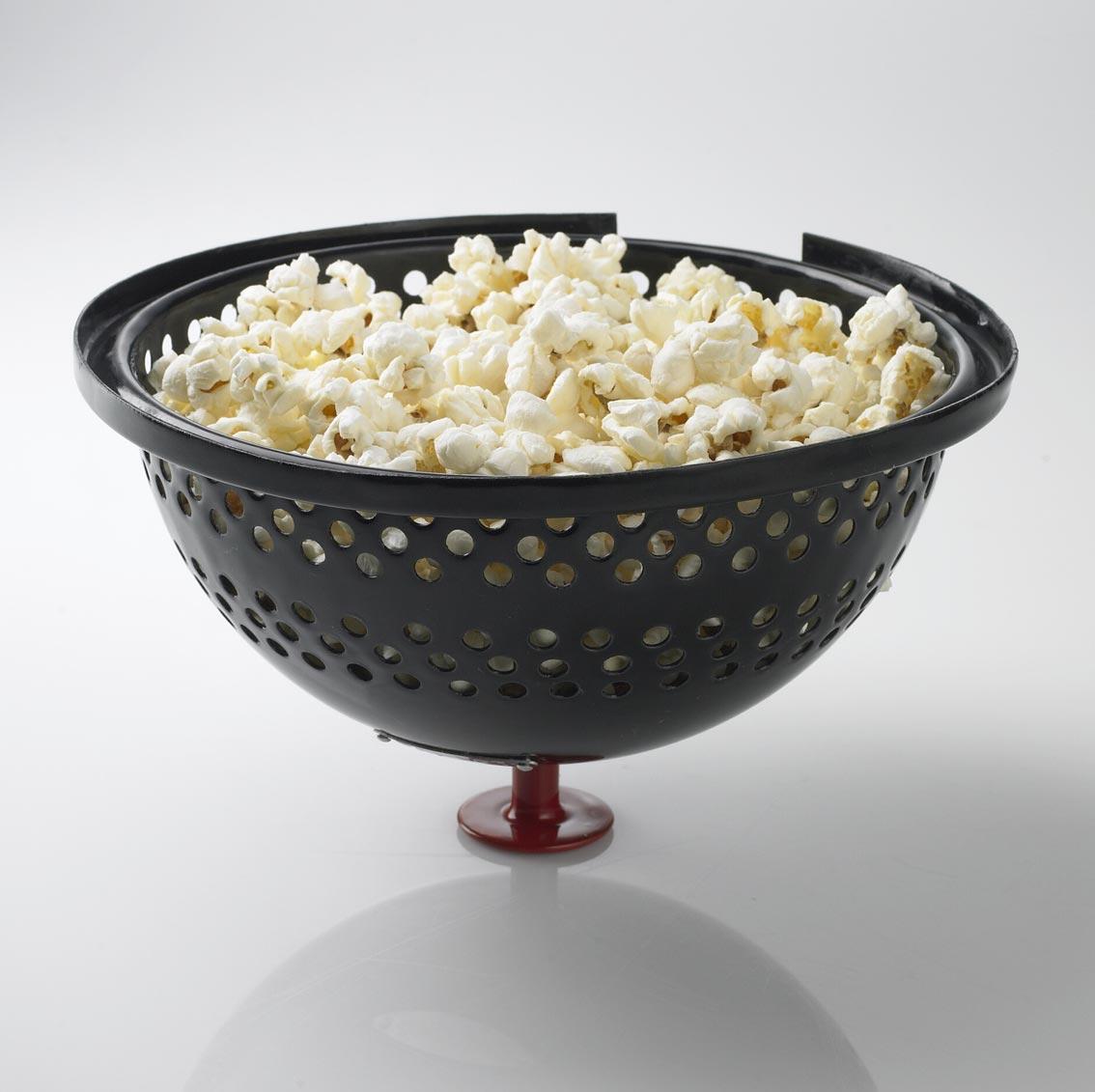 Bon-fire Popcorn Deckel / Poptop schwarz rot Ø 20 cm Bild 2