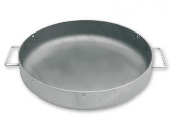 Eisenpfanne / Grillpfanne mit Griffen Ø 40cm Bild 1