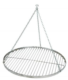 Grillrost mit Kette Ø 60cm verchromt Bild 1