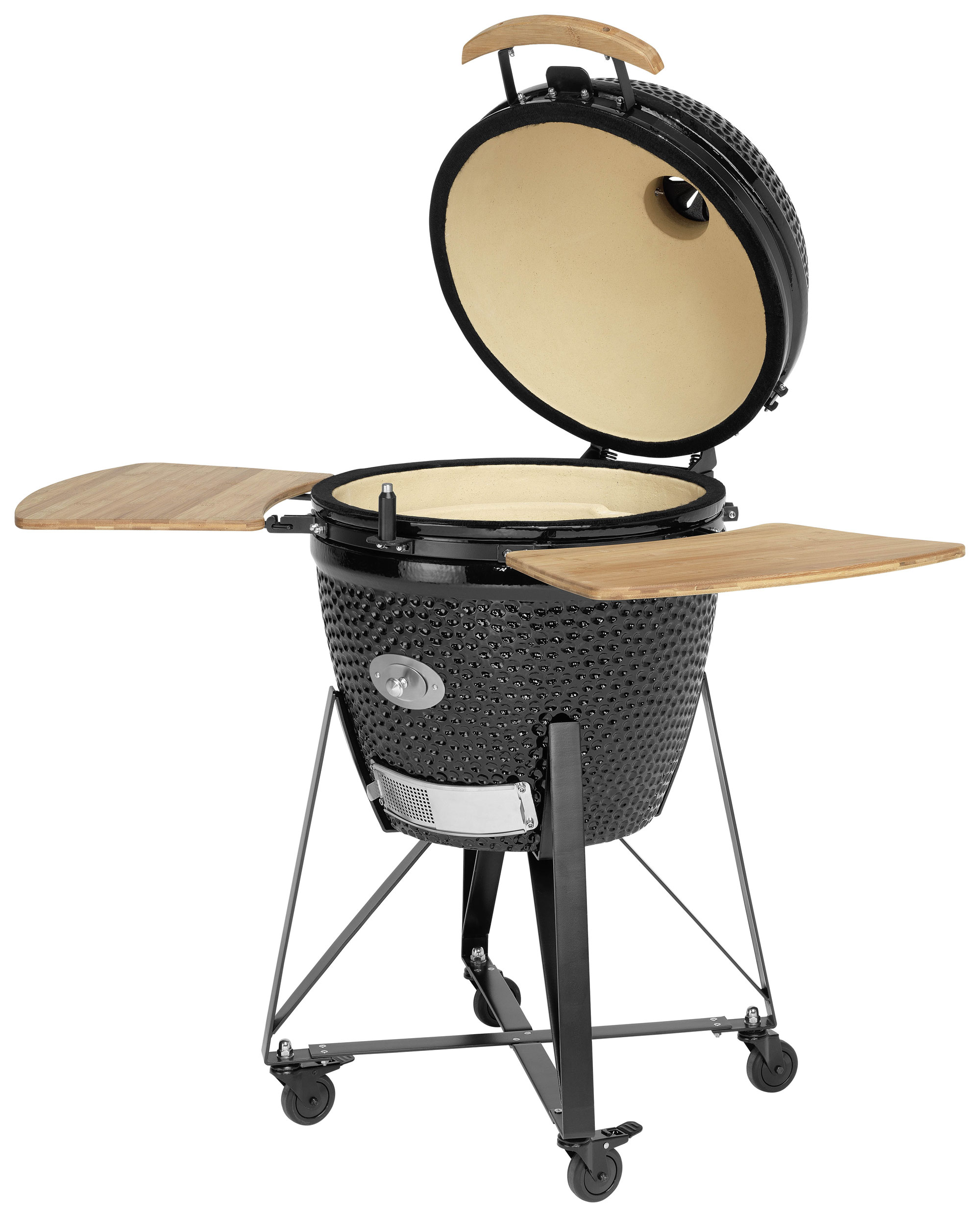 Holzgrill / Keramikgrill Justus Black J'Egg XL Chip Supply Ø47cm Bild 2