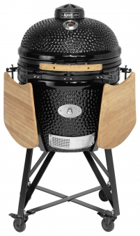 Holzgrill / Keramikgrill Justus Black J'Egg XL Chip Supply Ø47cm Bild 1