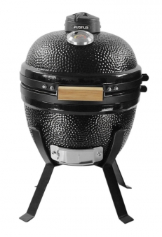 Holzkohlegrill / Keramikgrill Justus Black J'Egg S Grillfläche Ø35cm Bild 1