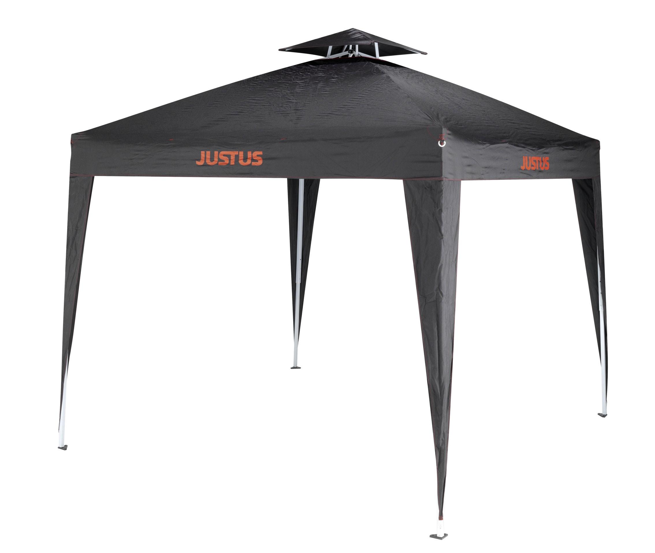 justus pavillon grillpavillon faltbar 2 5x2 5m bei. Black Bedroom Furniture Sets. Home Design Ideas