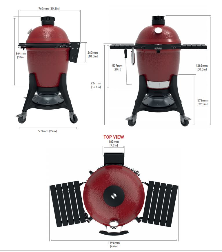 Kamado Joe Classic III Keramikgrillei Neues Modell Bild 2