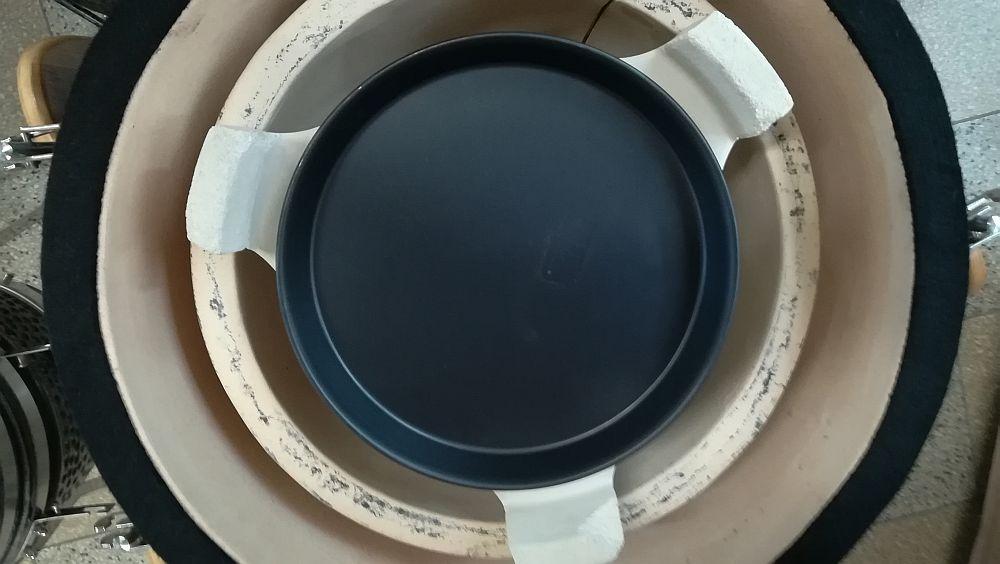 """Deflektorstein Kamado-Kitchen für Keramikgrill 18,8"""" Bild 5"""