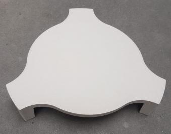 """Deflektorstein Kamado-Kitchen für Keramikgrill 18,8"""" Bild 1"""