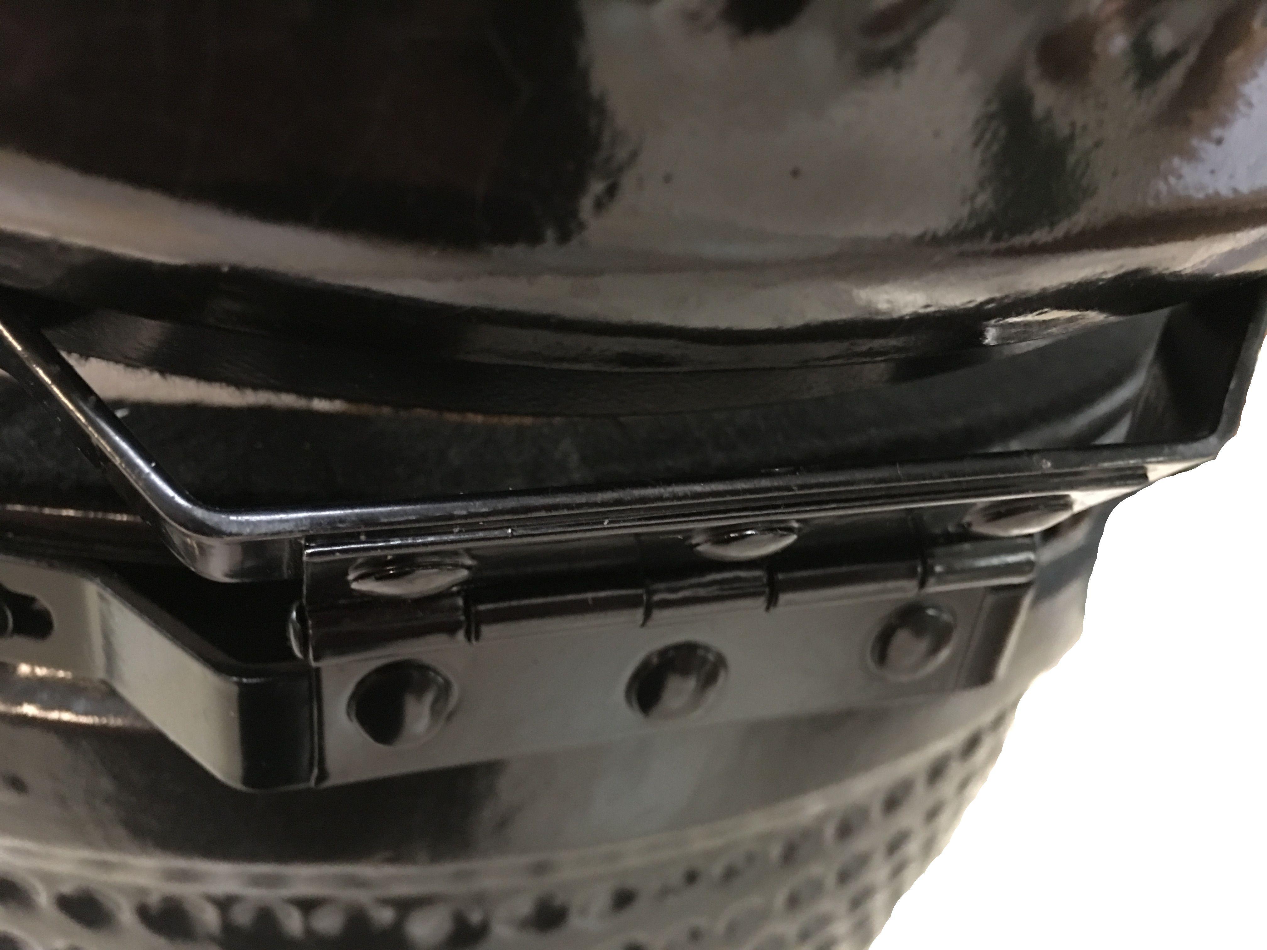 Kamado Action 13-Zoll schwarz Keramikgrill Bild 3