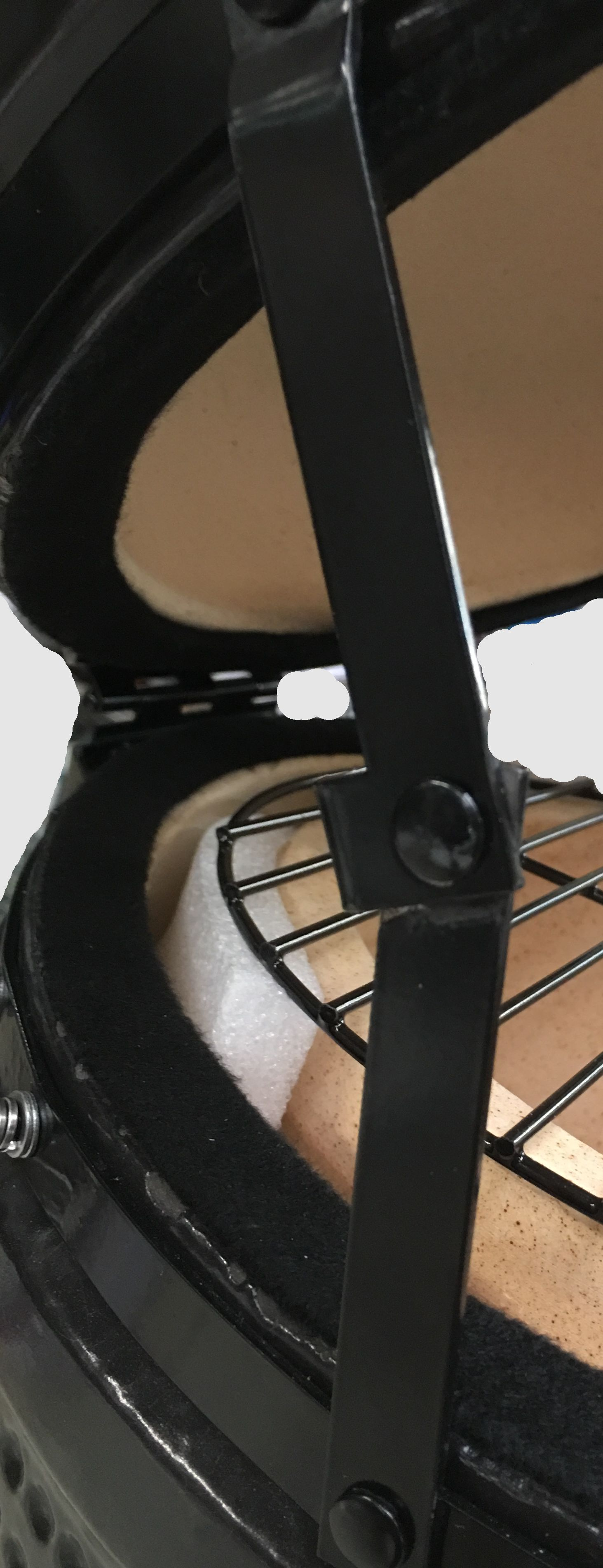 Kamado Action 13-Zoll schwarz Keramikgrill Bild 4