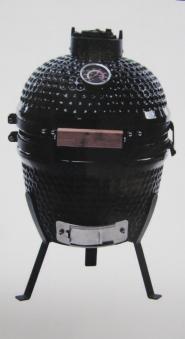 Kamado Action 13-Zoll schwarz Keramikgrill Bild 1